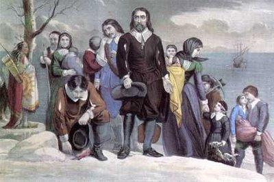 When the Pilgrims and strangers got to America, it was winter and there were no food