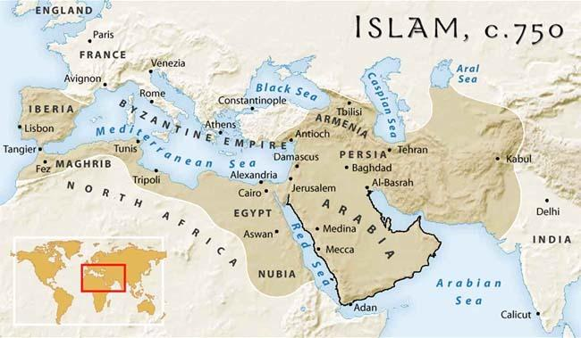 SPREAD OF ISLAMIC