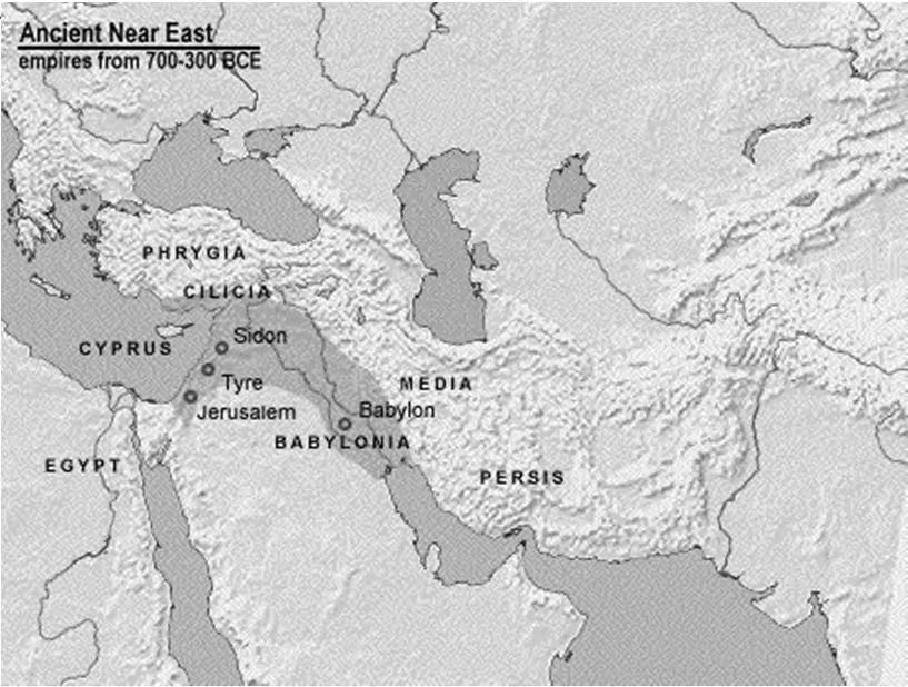 Babylonian Empire (609-539 BCE) The Exile (586-538 BCE)