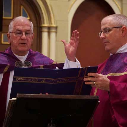 Report on Mission Archbishop Kurtz blessed the Holy Door at the Cathedral of the Assumption.