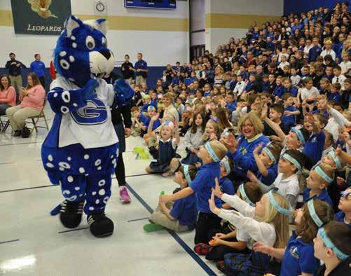 Gabriel School celebrated being named a Blue Ribbon School of Excellence. In addition to St.