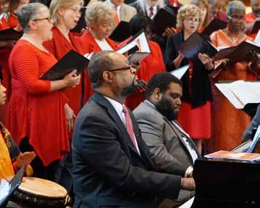 Report on Mission The choir at the annual Pentecost Mass.