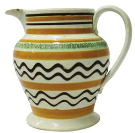 Some of the best known potteries were (and still are) Wedgwood, Royal Doulton, Spode, and Minton, with many smaller potteries coming and going over the course of the