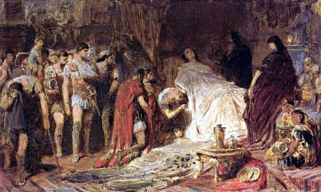 Alexander Dies In 323 BC while in the city of Babylon, Alexander fell ill.