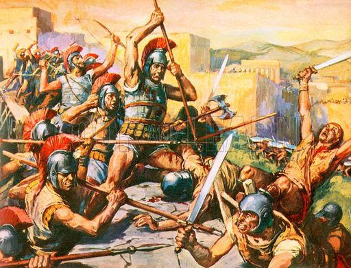 Alexander Faces Rebellion Almost as soon as Alexander took over the kingdom, he was faced with revolts in Greece.