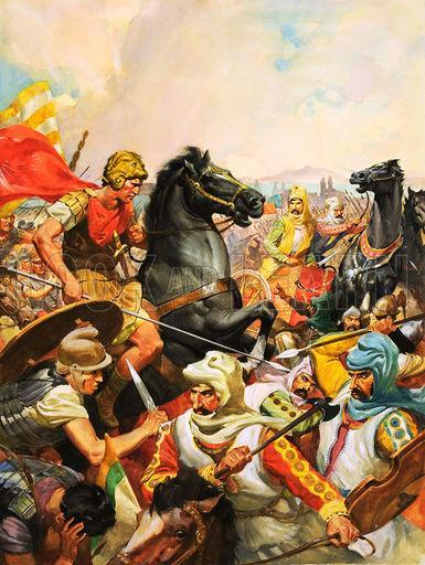 Alexander Defeats the Persians From Egypt, Alexander marched into what is now Iraq.