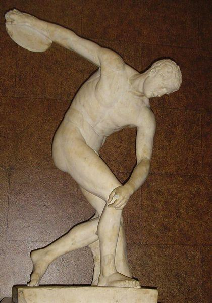 Document 8: Myron's famous marble sculpture of The Discus Thrower