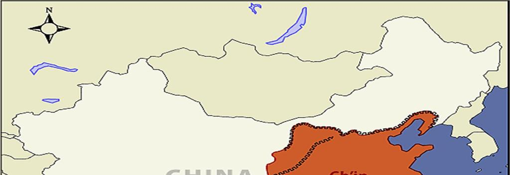 The Qin Dynasty 300 s BC, the