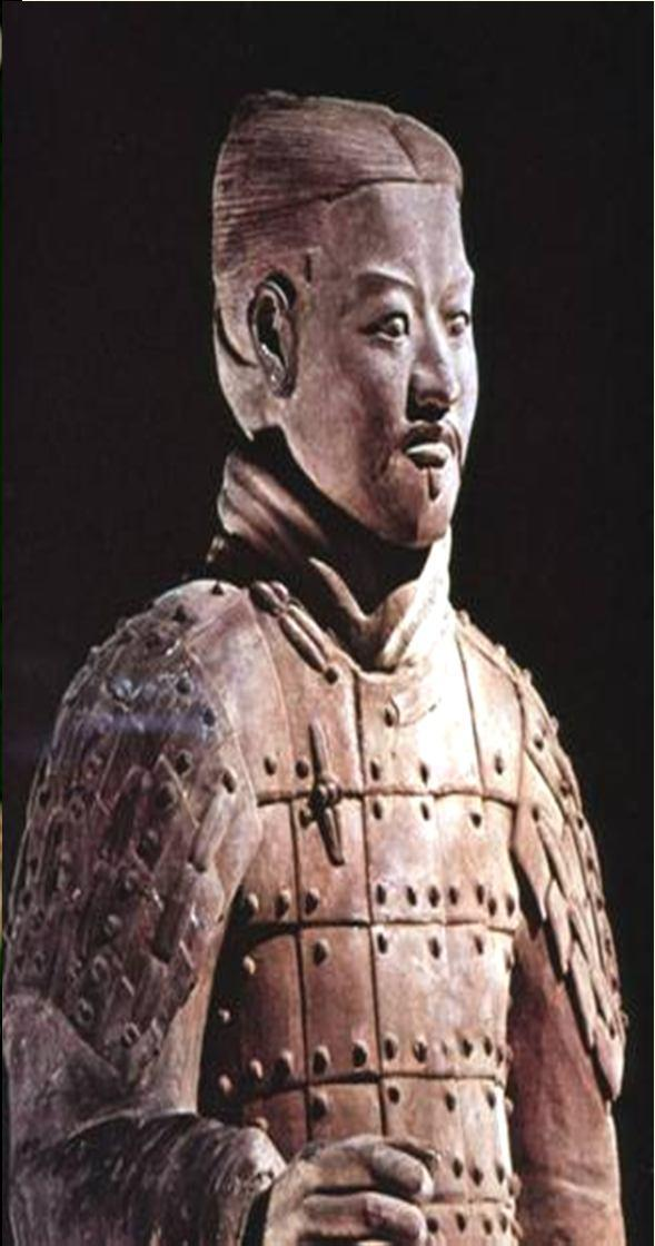 Terra Cotta Soldiers & Cavalrymen Although harsh, Qin policies