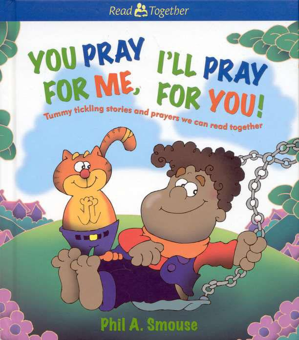 is full of 20 clever stories and humorous illustrations perfect for new and beginning readers. Just find a friend, choose your color and have fun! You Pray for Me, I'll Pray for You!