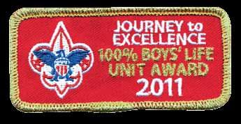 Boys Life Is Quality Program Help Make All Units 100% Boys Life Units Scouting s Journey to Excellence (JTE) is the BSA s performance recognition program designed to encourage and reward success and