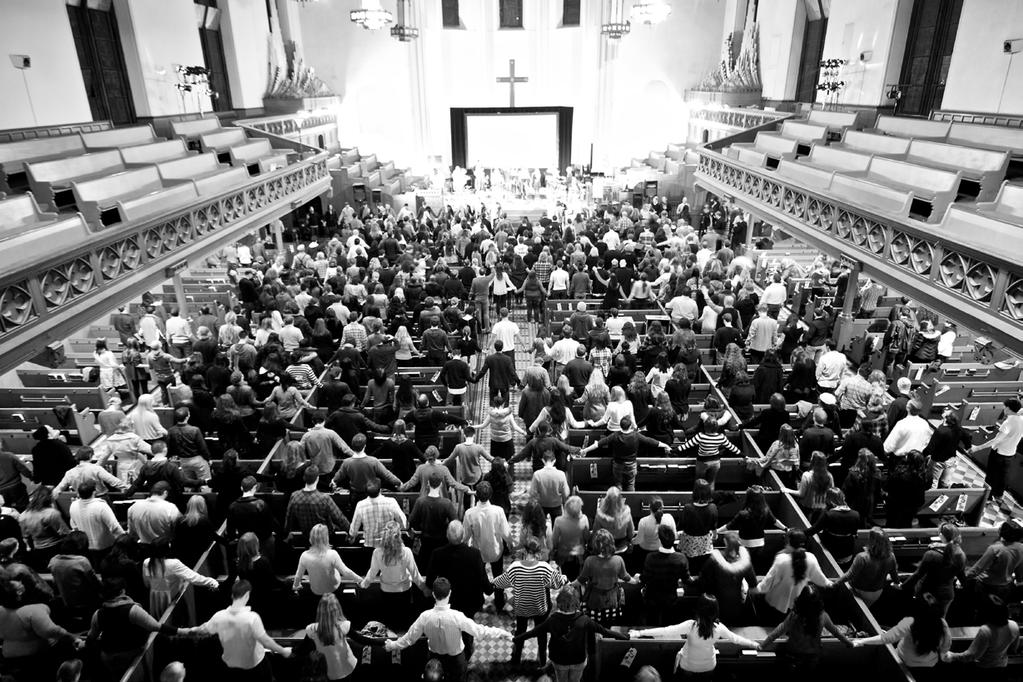 CITYWIDE GATHERINGS Critical to the city parish model is the practice of gathering all the congregations together for nights of worship, celebration, and intercession for the city at large.