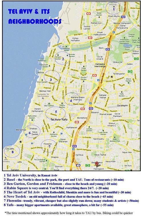 Ccv Peoria Campus Map.Tel Aviv University International Student Handbook Pdf