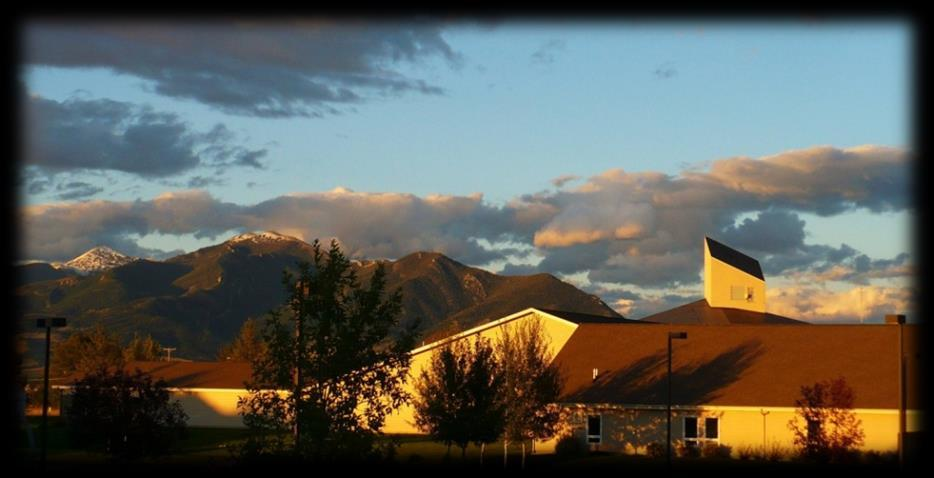 GENERAL INFORMATION MBC CAMPUS Montana Bible College has been blessed with beautiful, state-of-the-art facilities, from administrative offices, to classrooms, to residence halls.