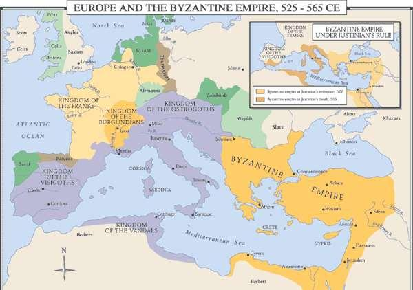 THE BYZANTINE EMPIRE Who was the Byzantines? One of the world s great civilizations was in the eastern part of the Roman Empire, the part that did not fall to barbarians.