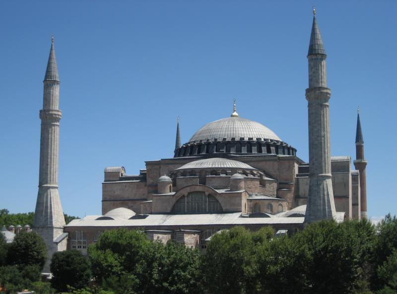 Visual Evidence B Hagia Sophia The following photographs are images of the Hagia Sophia, the Byzantine