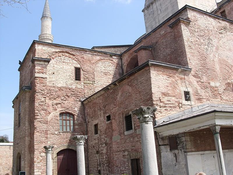 interior. Hagia Sophia Source: https://upload.wikimedia.org/wikipedia/commons/d/d7/hagia_sophia_305.