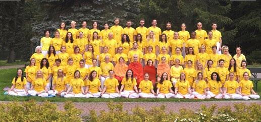 INTERNATIONAL SIVANANDA YOGA TEACHERS TRAINING COURSES (TTC) 1 SEPTEMBER 30 SEPTEMBER 2018 Dates include arrival and departure days Qualification for admission: the intensity of the training requires