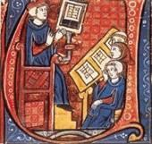 manuscripts were being copied in Latin, usually by monks Why were new