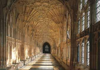 PROJECT PILGRIM Project Pilgrim at Gloucester Cathedral is an ambitious ten-year programme of activity and capital development that supports the 21 st Century mission to be In tune with heaven, in
