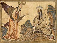 Muhammad He prayed in the desert near Mecca for a few weeks every year In 610, the angel Gabriel appeared to him
