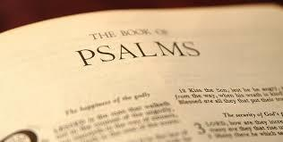 Responsorial Psalm Following the 1 st reading we will sing a psalm a