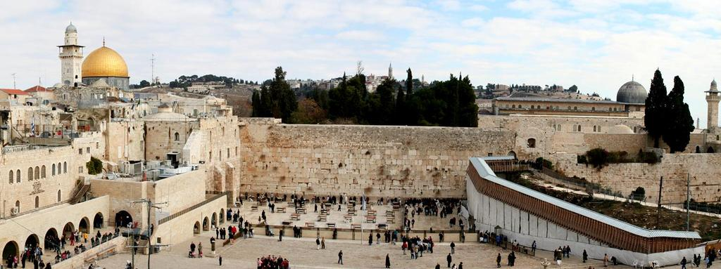 Sacred Spaces & Places of Worship THE WESTERN WALL Remnant of Solomon s temple A sacred space of Prayer &