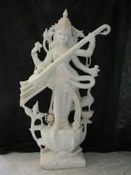 SARASWATI STATUE Asthetically Carved Goddess Saraswati Ji