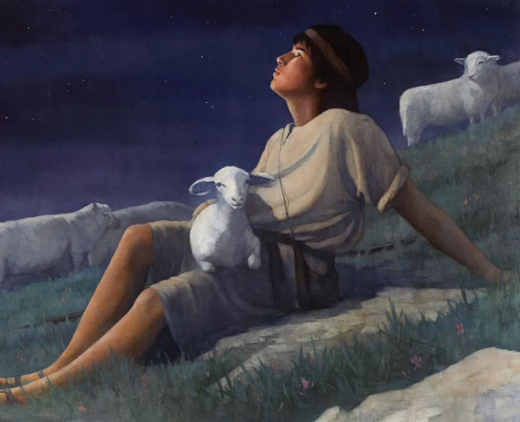 David the Shepherd (1 Samuel 16:10-23; 17:12-15,34-37a; Psalm 23) God Is Session 5 Worship KidStyle