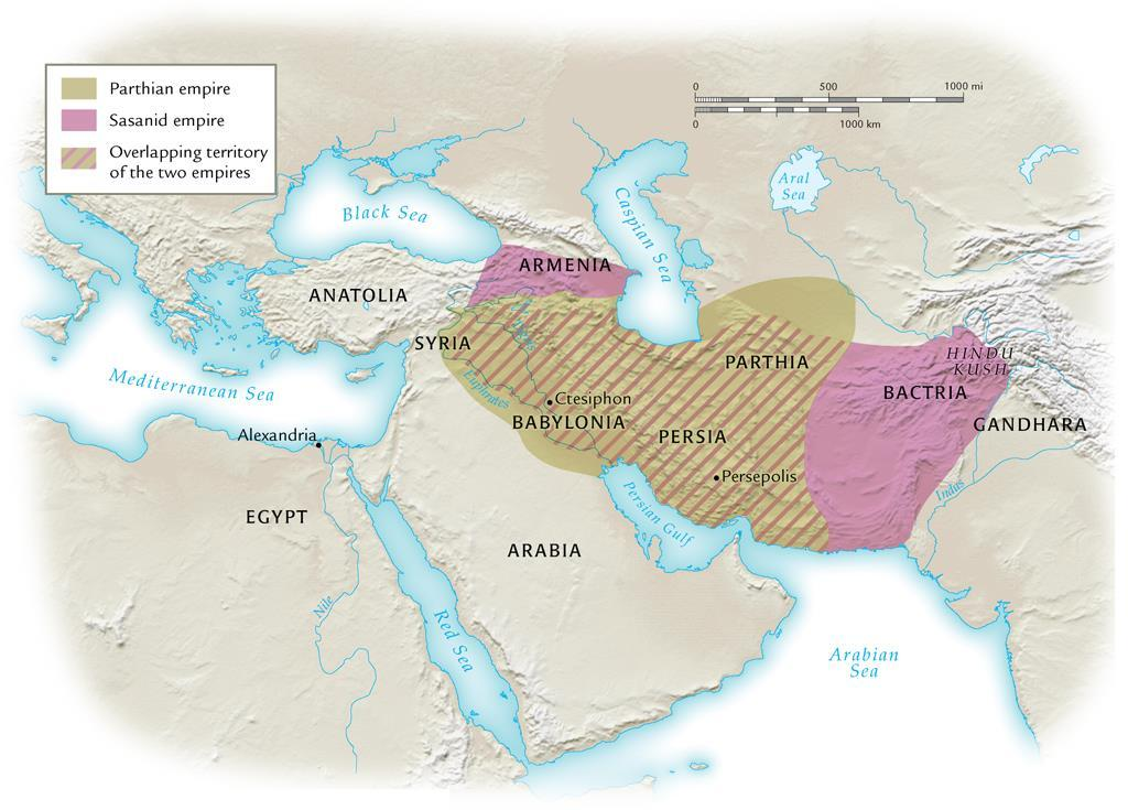 The Parthian and Sasanid