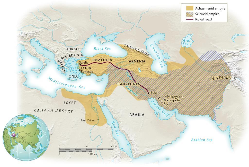 The Achaemenid and Seleucid