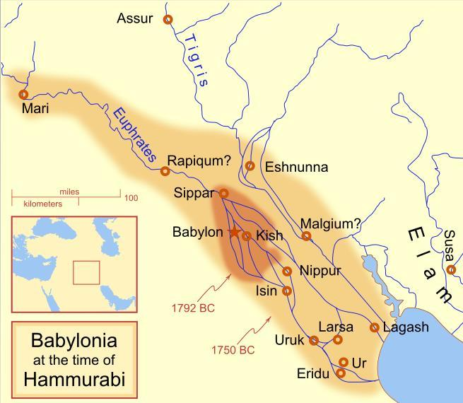 The Babylonian period features one of the greatest legal contributions under the administration of Hammurabi in 1792 BCE.