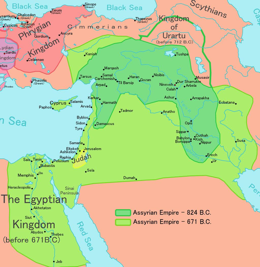 The invasion of the northern peoples from Turkey (Hittites) disrupted Mesopotamian rule in 1600 BCE. The next major Mesopotamian dynasty began in Assyria 600 years later around 1000 BCE.