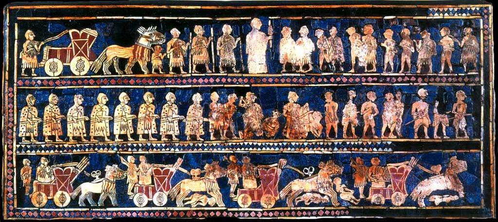The Standard of Ur is one of the great works of art from the 3 rd millennium BCE.