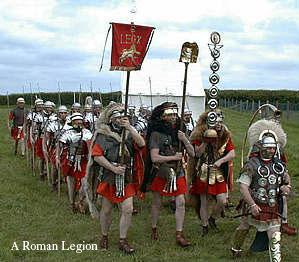 Roman Military Domination: All Directions, All the Time Rome invaded Carthage and burned it to the ground. Rome then continued its expansion throughout the Mediterranean.