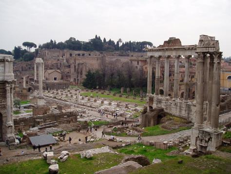 Collapse of the Western Portion of the Roman Empire With the Roman peace the arts flourished, especially literature and