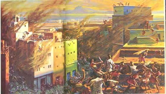 Rome fought a series of wars against Carthage known as the Punic Wars 264 202 B.C.E. First: fought for the control of Sicily.