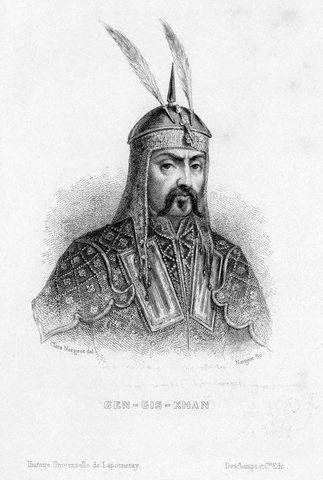 Genghiz Khan Conquered China in early 1200s Mongol Empire Kublai Khan Extended Mongol control over most of Asia, Russia and eastern