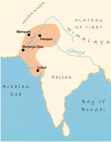 Background Indus Valley Civilization (Harappan) 2 Major Cities: Harappa & Mohenjo-Daro 2