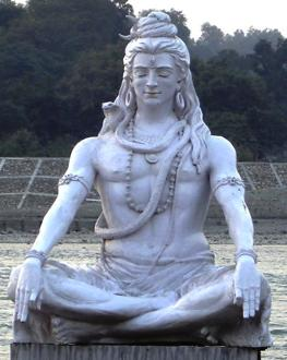 Shiva worshiped as the destroyer and transformer.