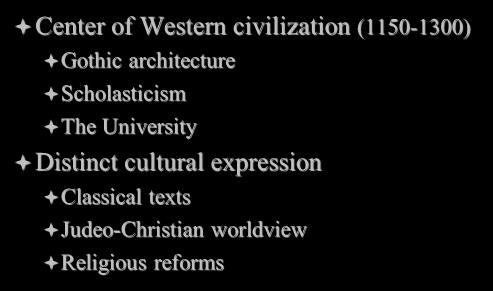 architecture Scholasticism The University Distinct cultural