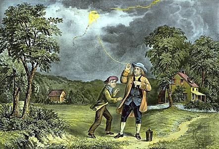 The Spread of Science: Benjamin Franklin won international fame through his experimental proof of nature of lightning and electricity and his invention of the lightning rod