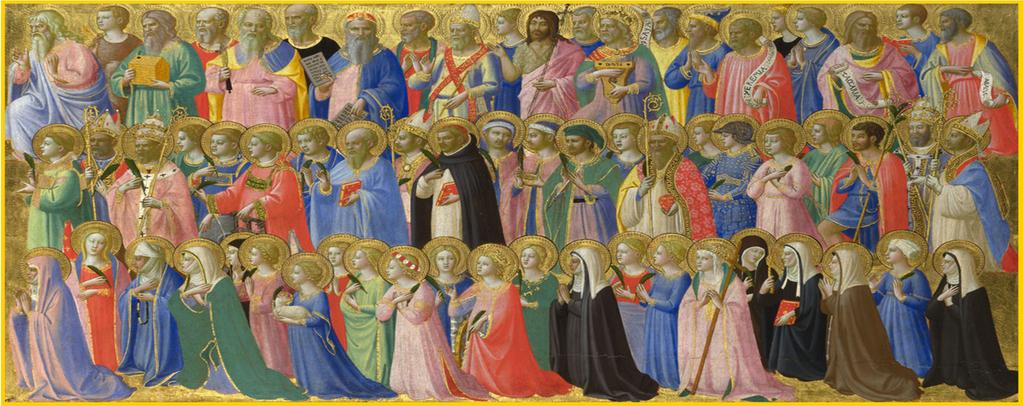 The Forerunners of Christ with Saints and Martyrs Fra Angelico, (1395-1455) Address 2114 Oakmere Dr Harvey, LA 70058 Phone 504 340 0444 Fax 504 340 9521 Email office@saintjohnboscochurch.