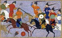 Genghis, the Conqueror After Genghis Khan conquered Northern China, he swept into the Middle East Whole Muslim