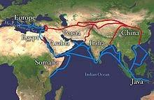 along the Silk Road) Cultural diffusion between Asia & Europe: Ideas, Inventions,