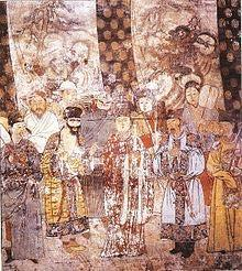 first Emperor of the Yuan dynasty organized his court by hierarchy,