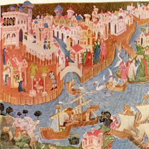 Marco Polo A young Venetian trader, Marco Polo traveled to Asia with his family, learning many languages Marco was a visitor in Kublai Khan s court before being hired by