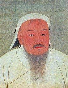 Genghis Khan Unites the Mongols, 1206 Genghis Khan = Universal Ruler Khan = king, commander, ruler, chief,