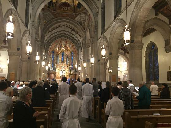 Inside the Numbers: Parish Saint Bernard Parish has gone from 3 full time priests to