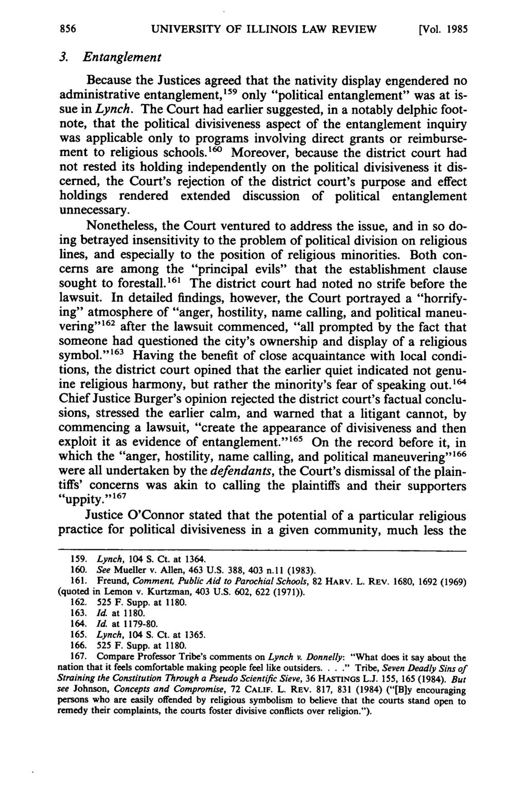 UNIVERSITY OF ILLINOIS LAW REVIEW [Vol. 1985 3.